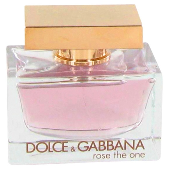 perfume dolce gabbana rose the one